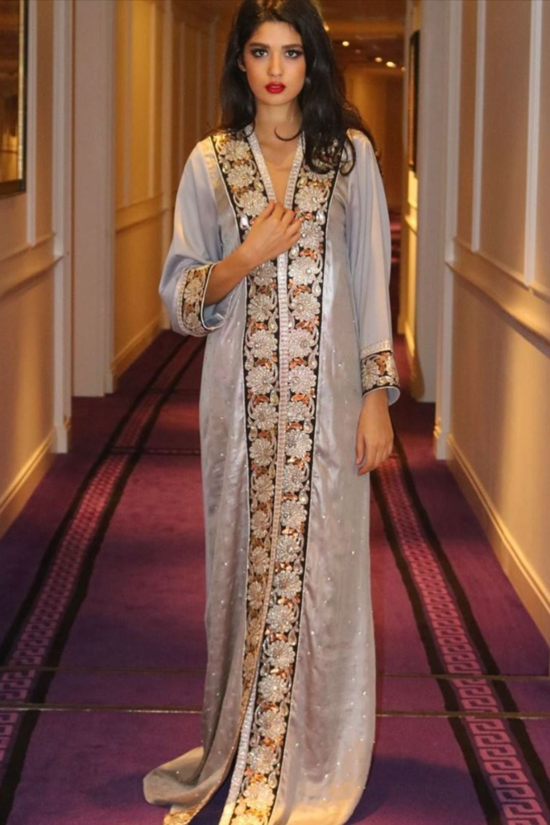 أحدث صيحات قفطان 2020 وهذه أماكن بيعه أون لاين Fashion Sari Saree