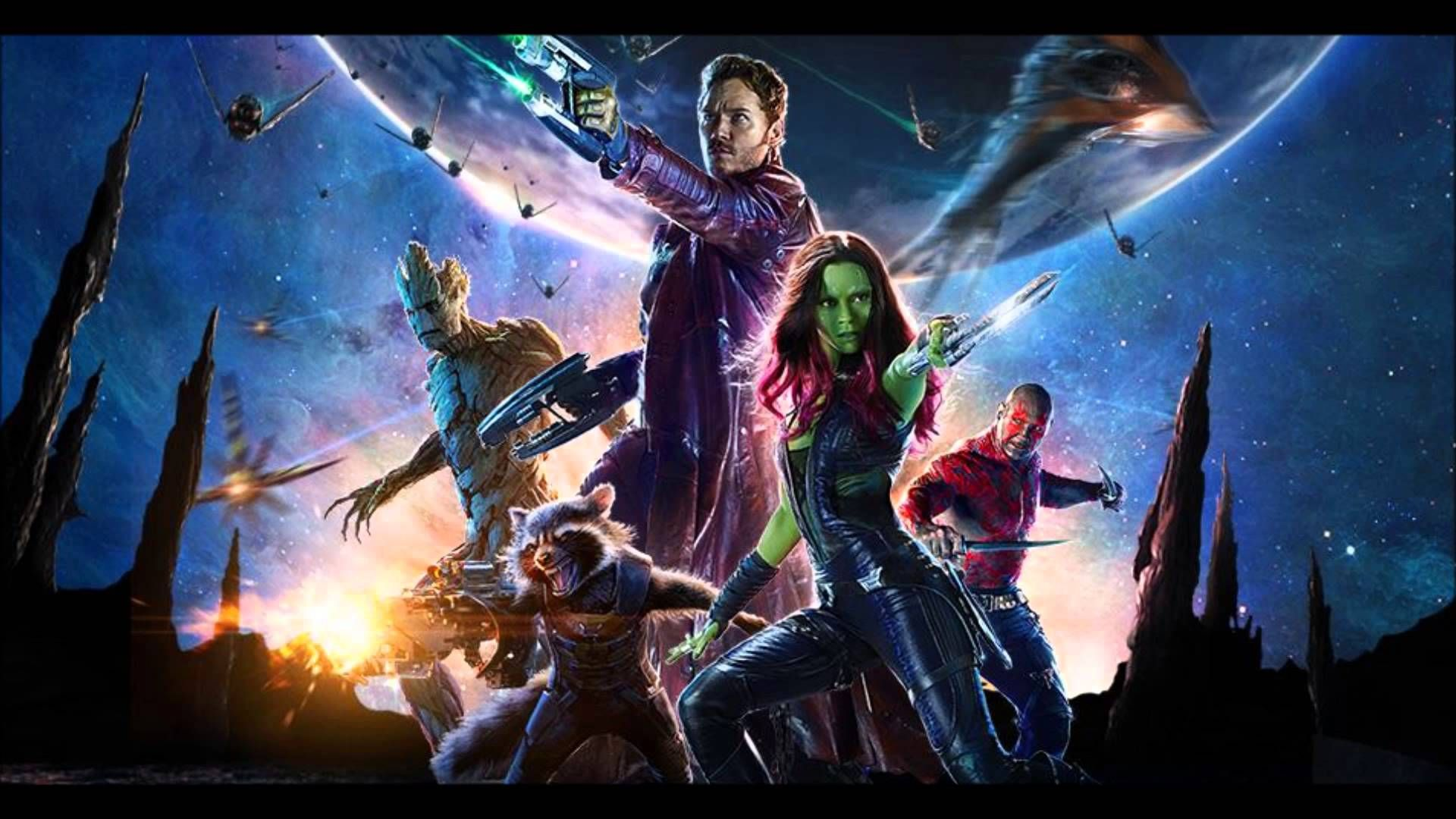 Guardiansofthegalaxy Best Superhero Film Of 2014 Marvel Galaxy Movie Guardians Of The Galaxy Galaxy Poster