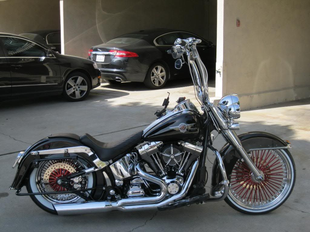 cholo style harley new ride wrights pics page 2 harley davidson forums softail. Black Bedroom Furniture Sets. Home Design Ideas