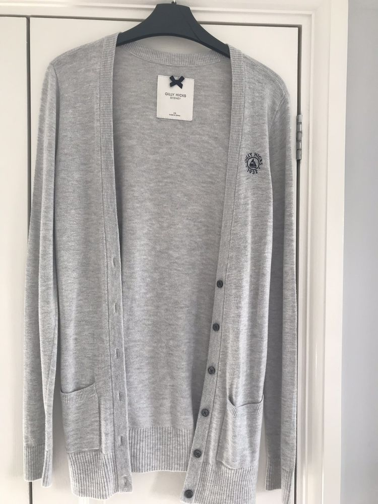 19a52959b Ladies Grey Gilly Hicks Cardigan Size XS  fashion  clothing  shoes ...