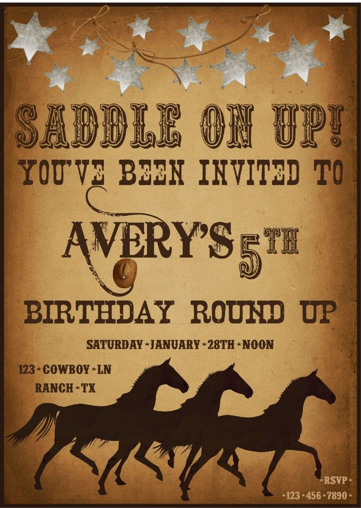 country western party invitation wording - Picture Ideas References