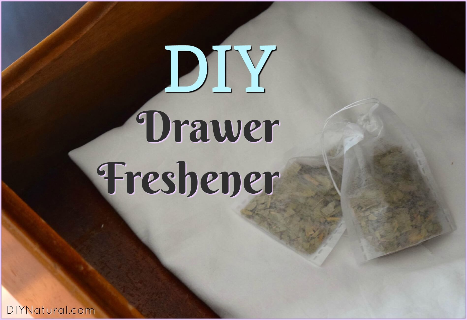 Drawer Freshener Natural Diy Eucalyptus Drawer Fresheners Diy Cleaning Products Freshener Diy Natural Cleaners Diy