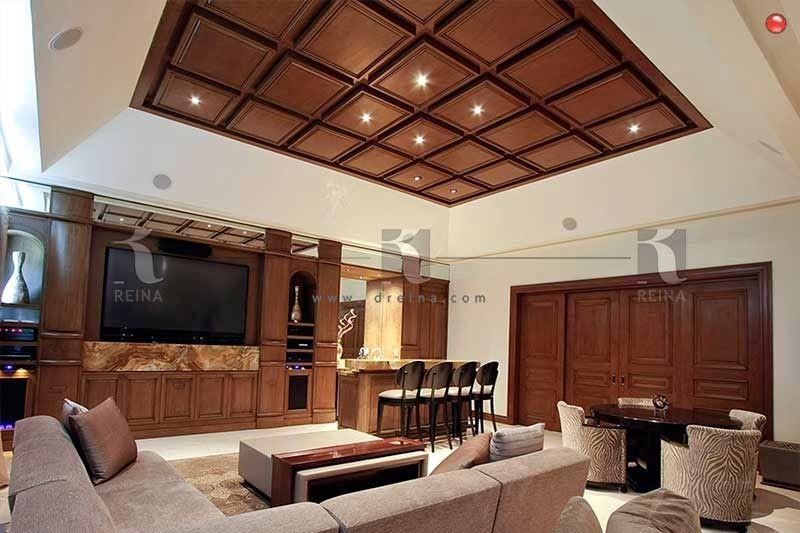 Plafond de madera barba 1 pinterest plafon de madera muro de madera y plafones Vigas de madera decorativas