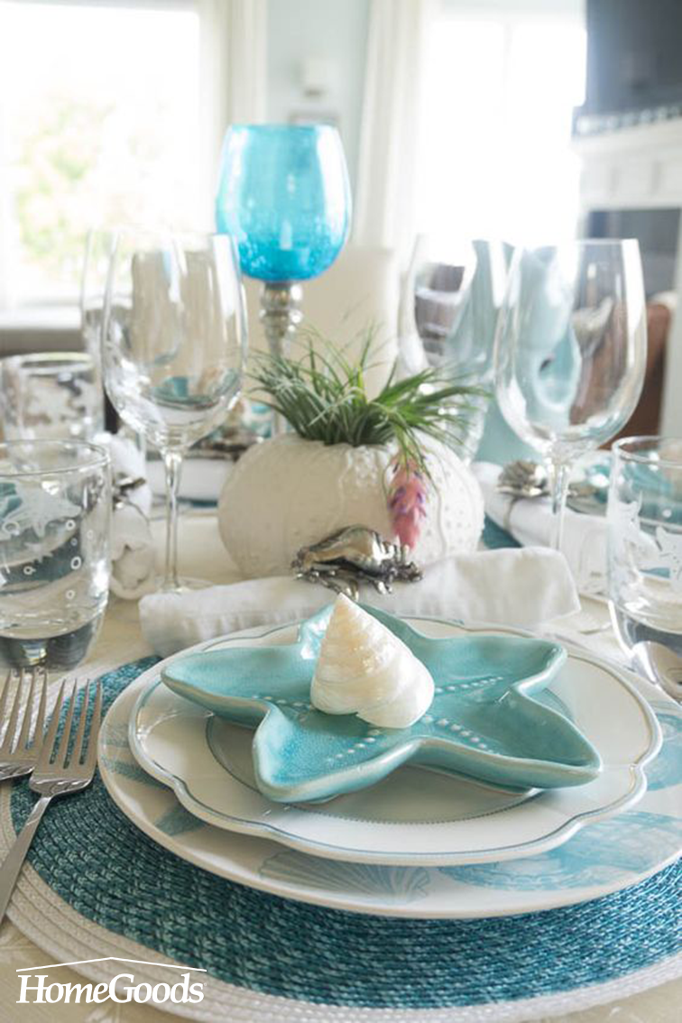 How To Create A Coastal Inspired Tablescape Happy Spring