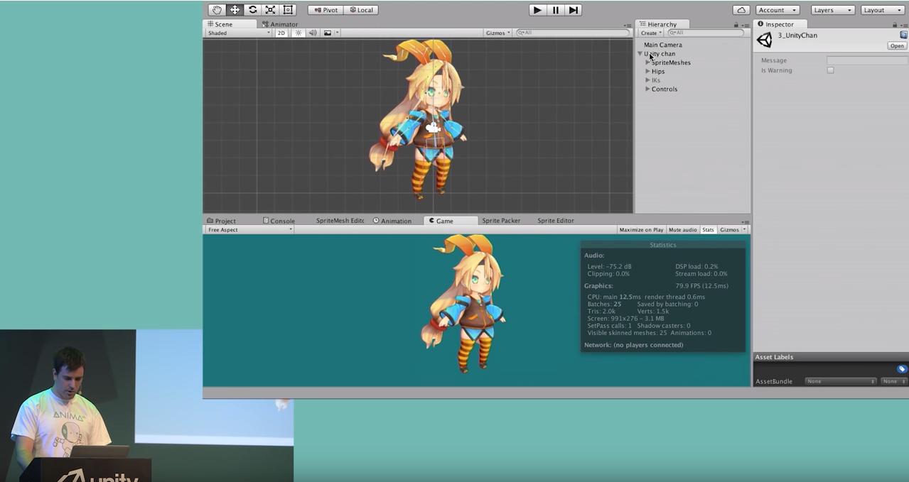 Unity ] 2D Skeletal Anima | [ Program ]