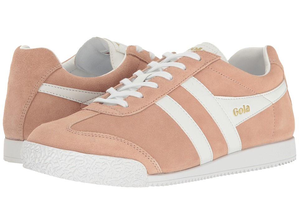 e80b0703d2e6 Gola Harrier Women s Shoes Bush Pink White