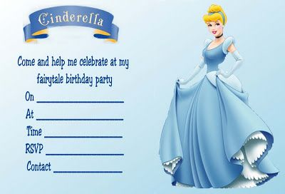 Nice Cinderella Birthday Invitations Ideas Download this invitation