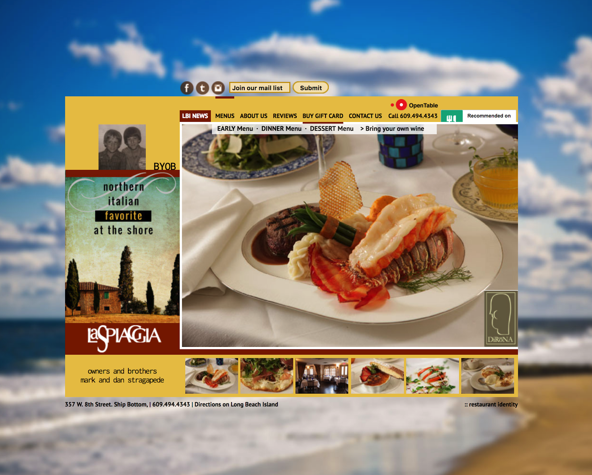 Italian Restaurant Website Design Create A Mouth Watering Website For Your Future Clien Restaurant Website Design Small Business Web Design Italian Restaurant