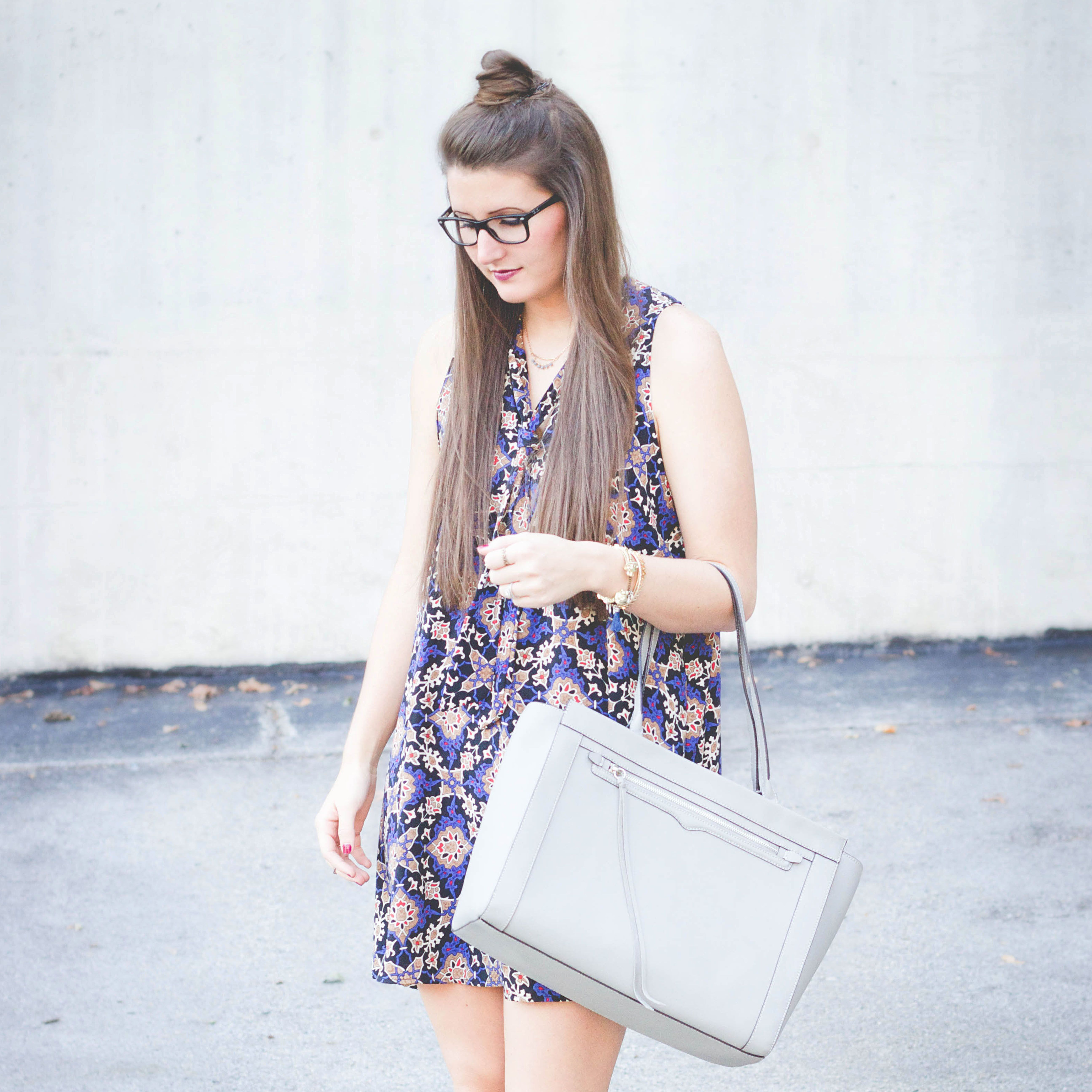 fall fashion grey purse swing dress s dress half bun my