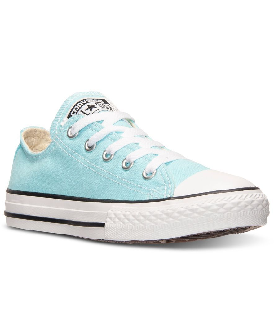 super cute b5bde b0708 Converse Little Girls  Chuck Taylor Ox Casual Sneakers from Finish Line