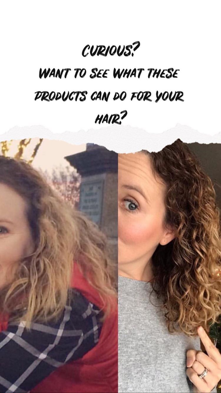 Time to make your curls bounce! Natural looking curls