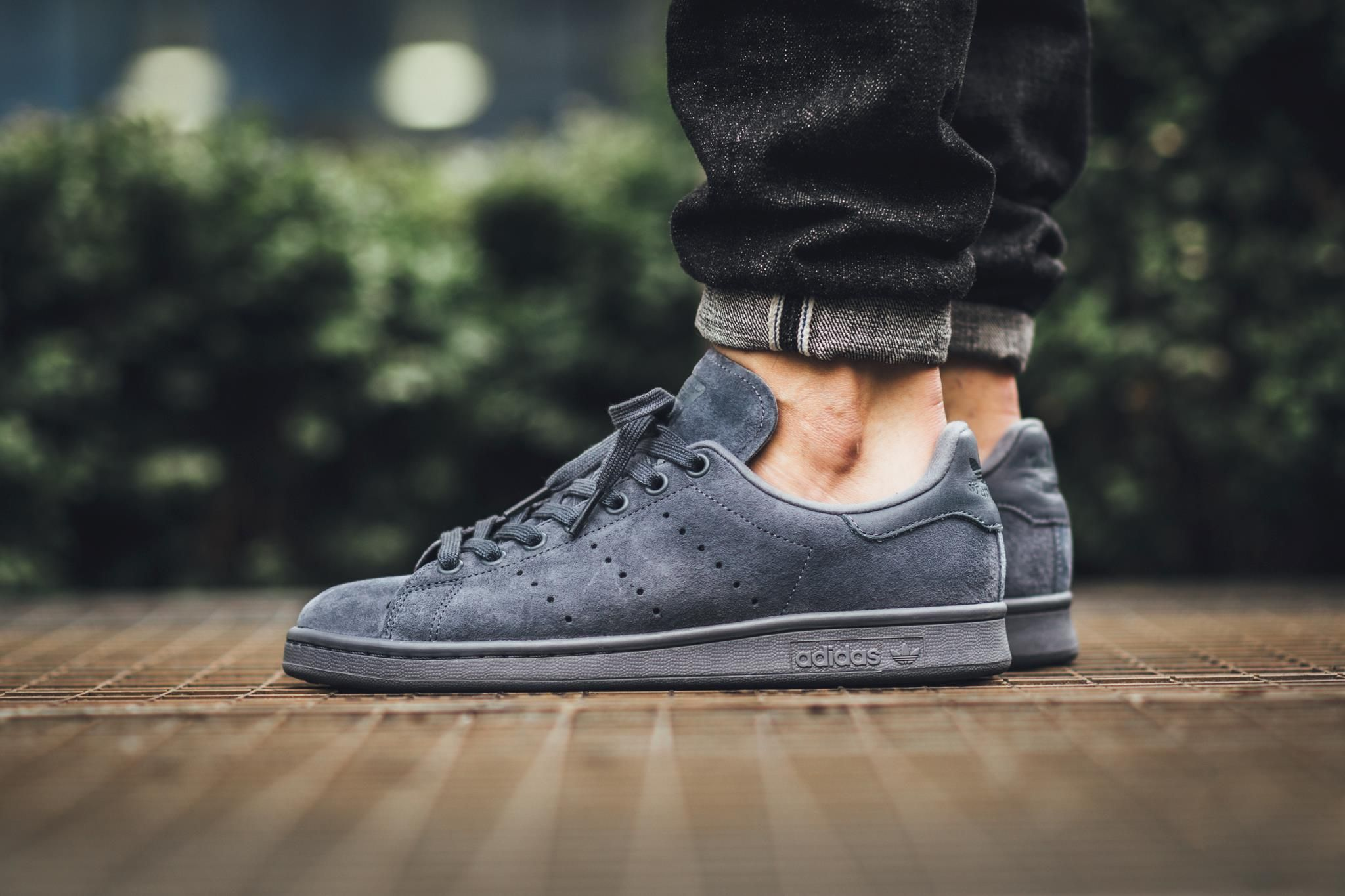 Image result for stan smith suede onix | Basket tendance