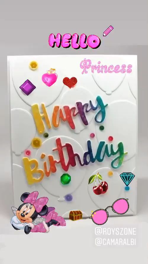Happy Birthday Card Inspired by @royszone Card, I just added my personal touch. #birthday #card #sayitwithacard