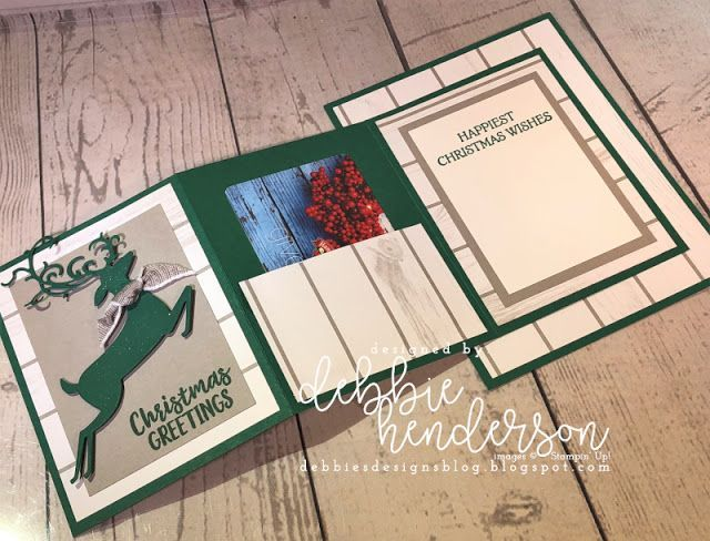 Photo of Designer Paper Gift Card Card Fold Just In Time For Christmas & VIdeo! – #card #…