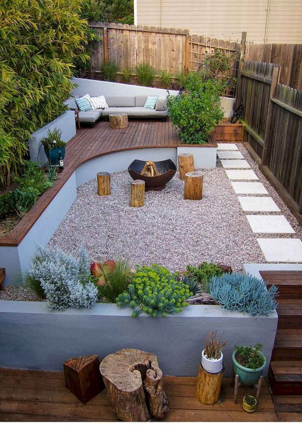 50 Cozy Backyard Seating Area Ideas Small backyard