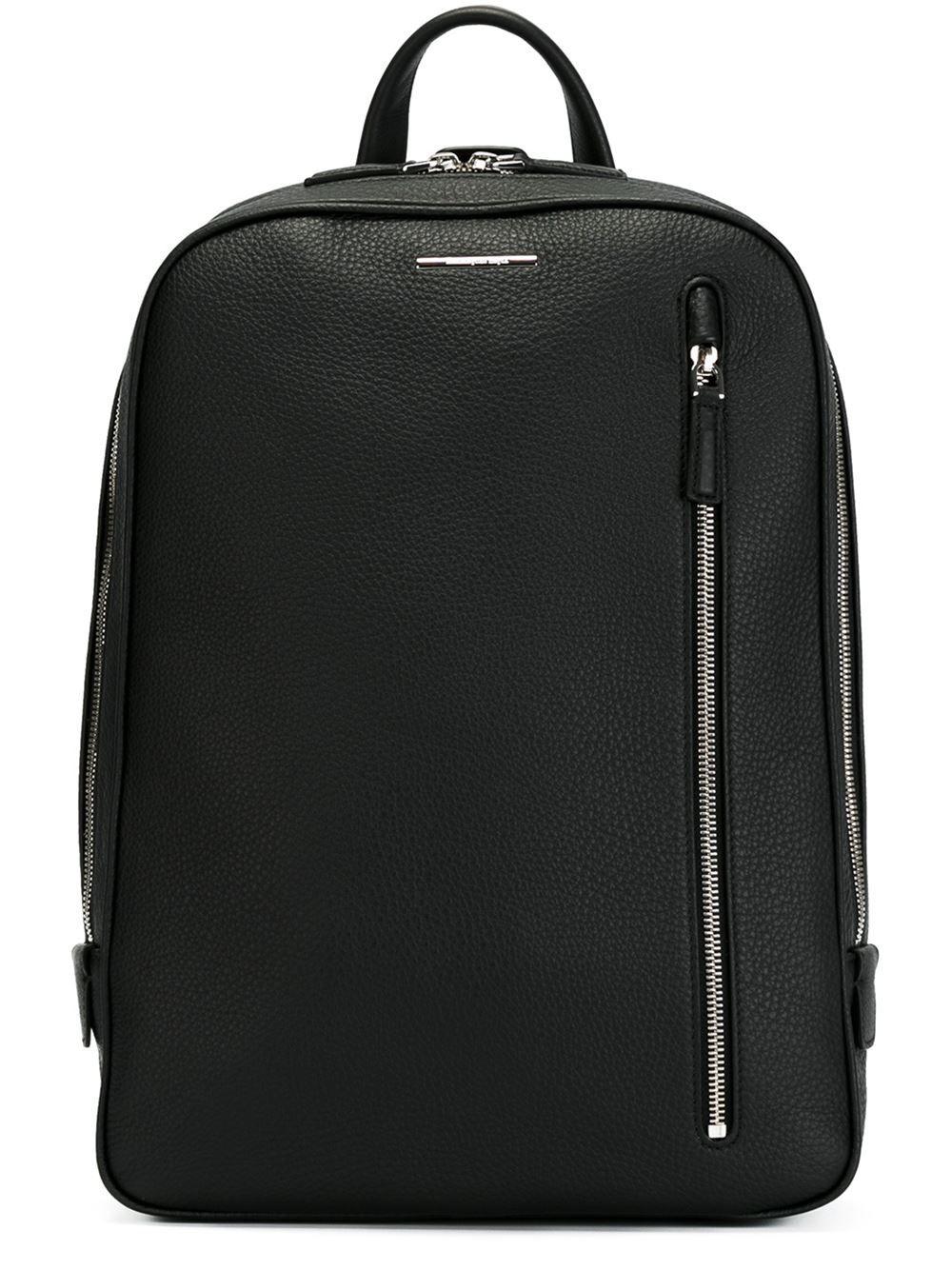 83ba6a46e7e6 Ermenegildo Zegna Zipped Pocket Backpack - Julian Fashion - Farfetch.com