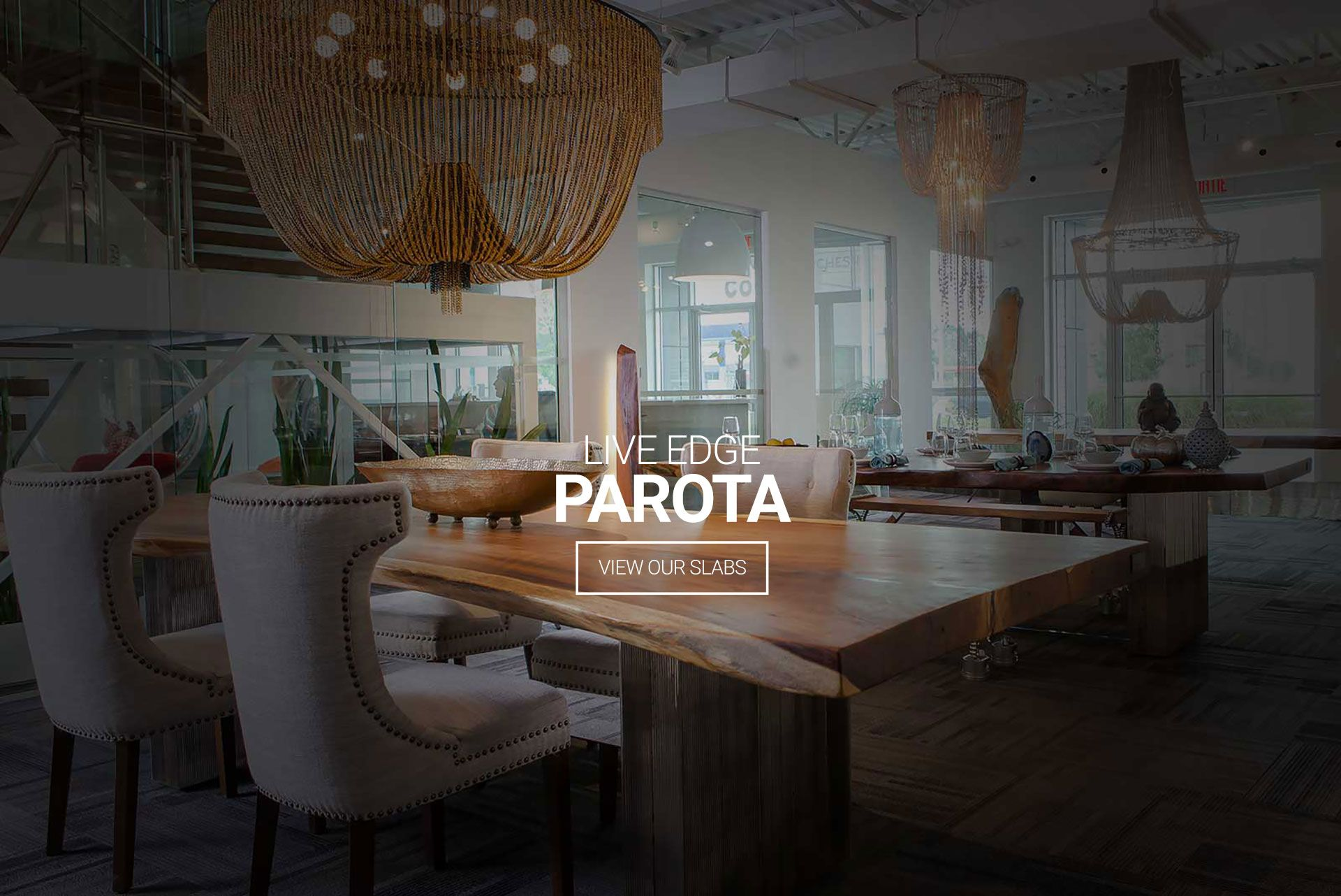 Whether a dining or conference table, office desk or even a mirror, we custom build furniture using Parota exotic wood. Get a Free Consultation Today!