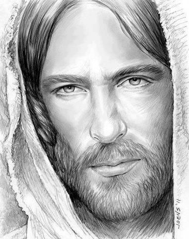 Jeshua Speaks I Chose You Jesus Drawings Jesus Face Jesus Sketch
