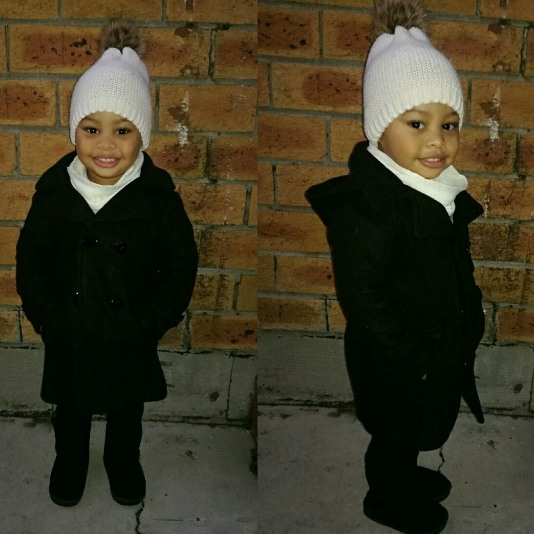 Olivia Palermo in long grey wool coat on December 13 ~ I