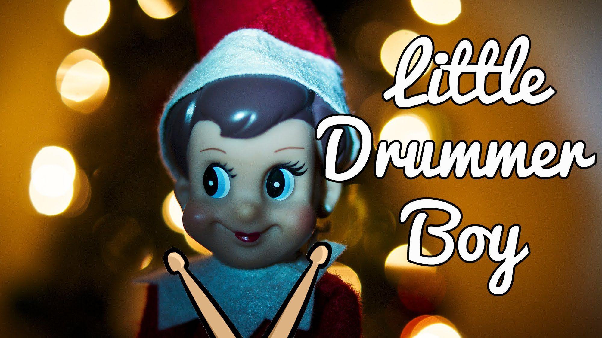 Little Drummer Boy - Lyrics (Karaoke - Instrumental) Christmas Songs ...