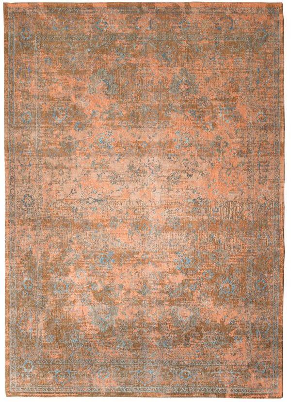 Teppich Orient-Muster   gefärbt gewebt   orange braun blau ...