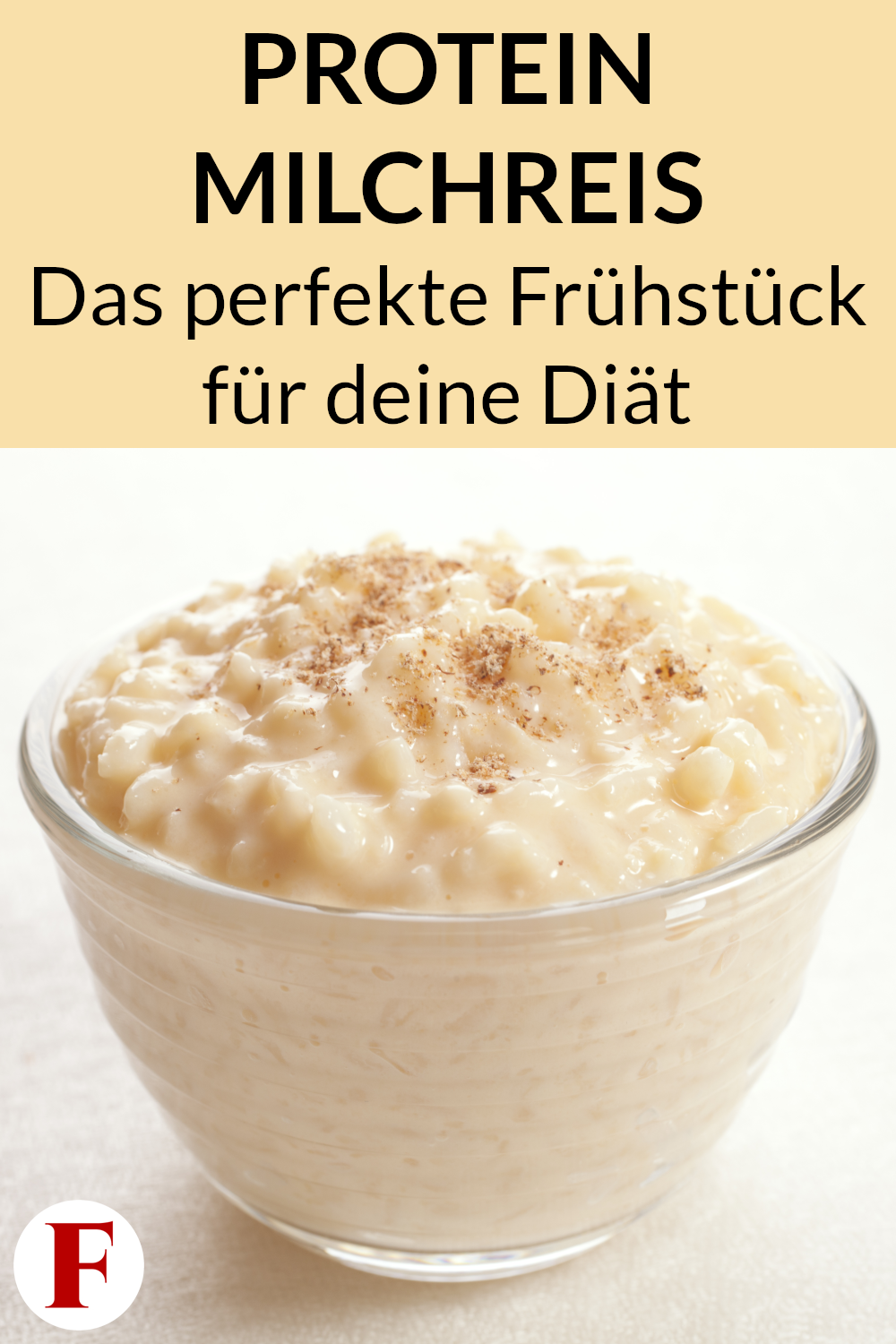 Protein Rice Pudding Recipe - Slimming Breakfast, #Breakfast #Protein #Pudding #Recipe #rice #slimming