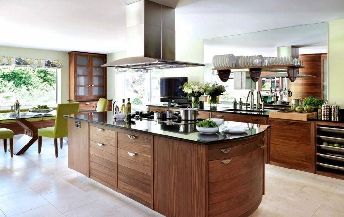 ▷ 1001 + exemples pharamineux de la cuisine en bois