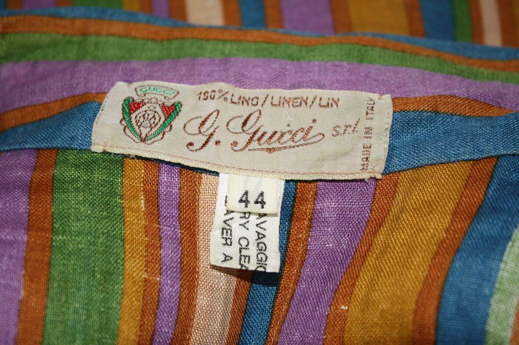 Vintage Gucci Shirt Waisted Dress Image 5 70s Fashion Fashion Vintage Gucci