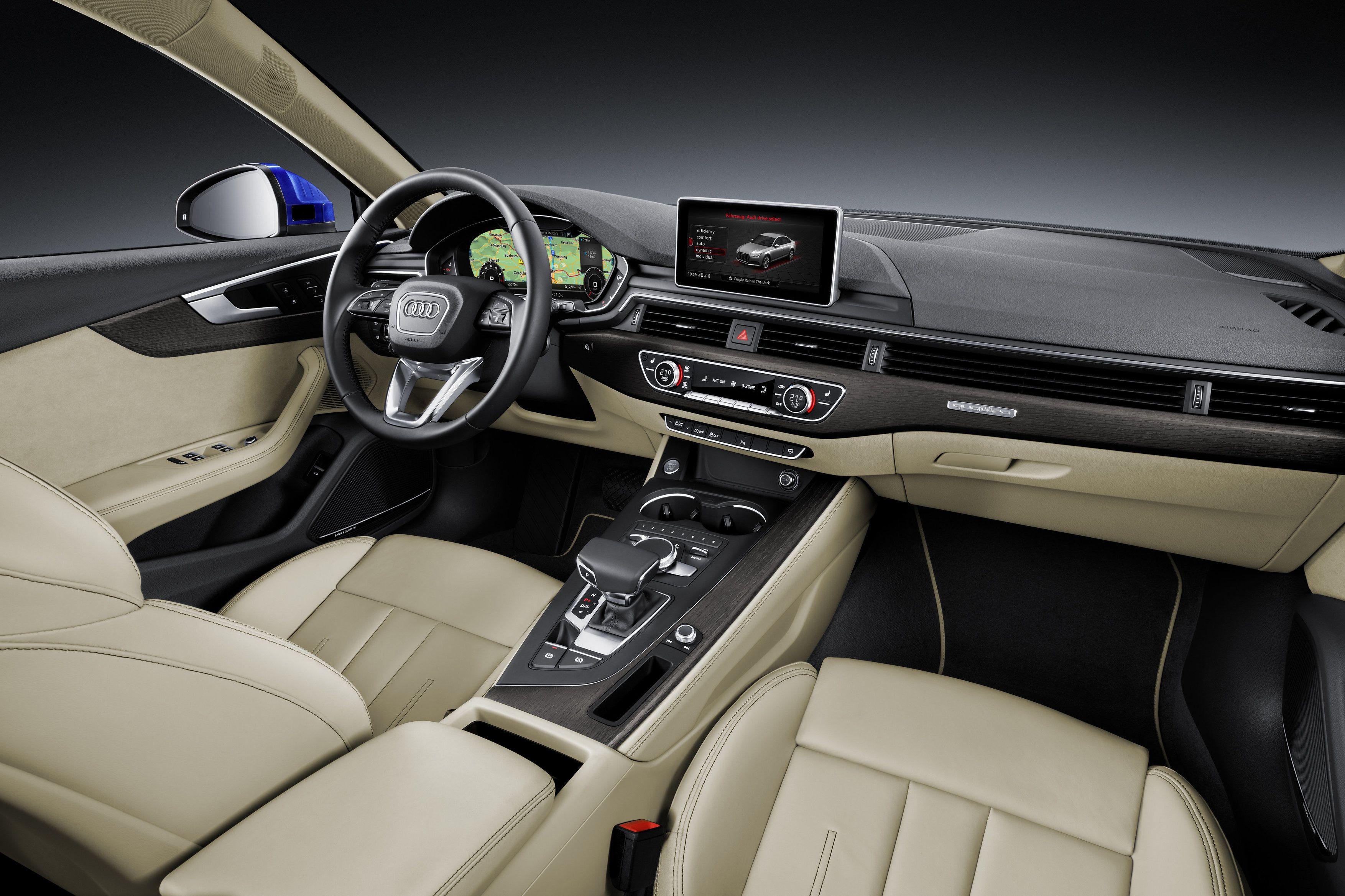 Nové Audi A4 Limuzína Audi A4 2017 Audi A4 Audi 2017