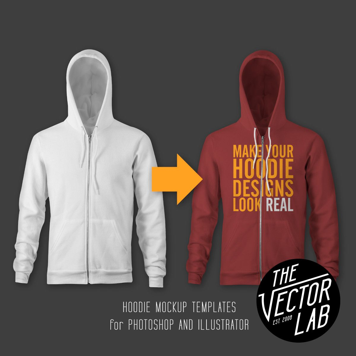 Download Men S Hoodie Mockup Templates For Adobe Clothing Mockup Hoodie Mockup Mockup Templates
