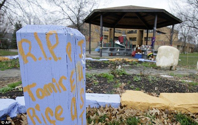 The gazebo (pictured in December) where 12-year-old Tamir Rice was fatally shot by a white Cleveland police officer is set to be dismantled this week