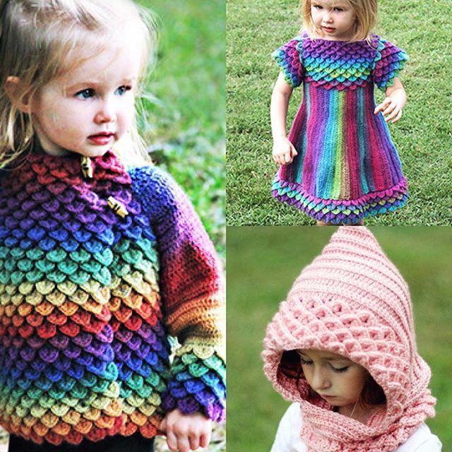 bonitapatterns crocodile stitch crochet