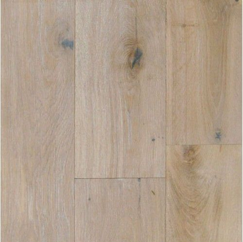 Wide Plank Engineered Wire Brushed Provence White Oak Wood