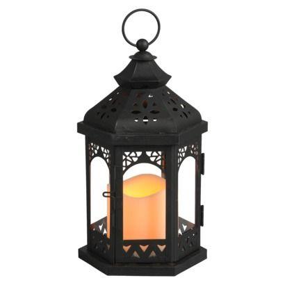 Metal Gazebo Lantern With Integrated Led Candle Target 19 99