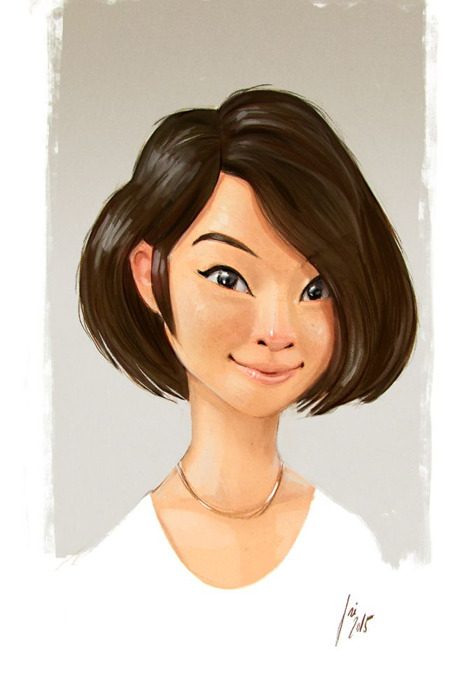 Image Result For Chinese Girl Drawing