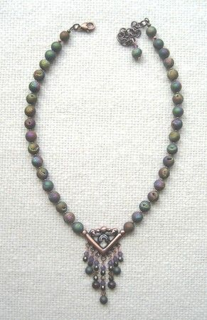 Rainbow Falls (Lima Beads Design Gallery) - Rainbow Agate Druzy Beads #rainbowfalls