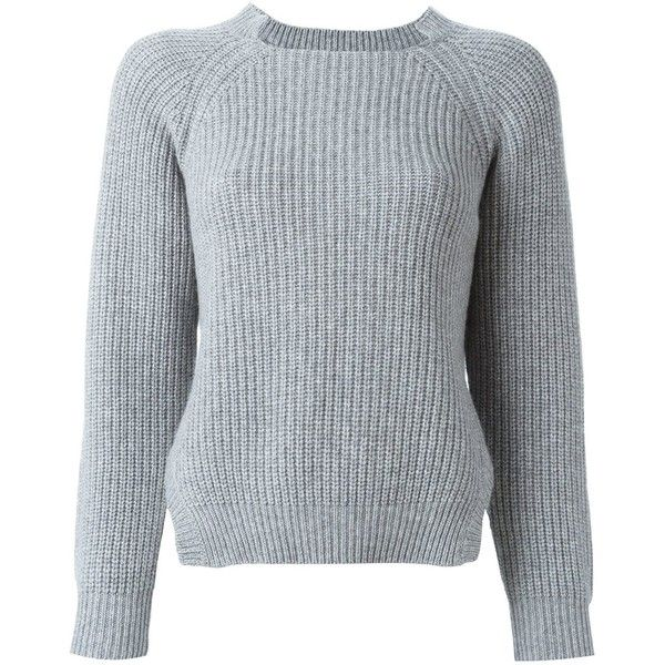 a8db044b9c62da Liska cashmere ribbed jumper ( 755) ❤ liked on Polyvore featuring tops