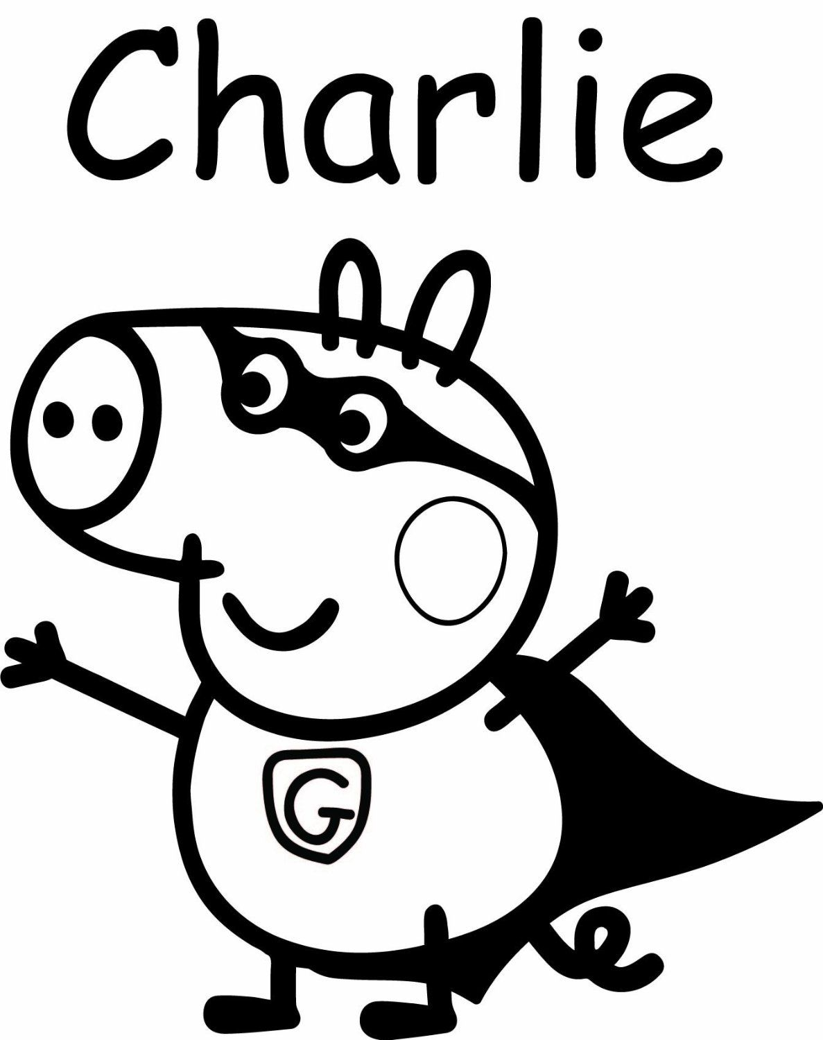 Pin by jessica on Peppa Pig Coloring Pages | Pinterest | Silhouettes ...