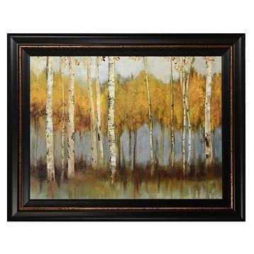 Golden Forest Framed Art Print #kirklands #artwalls