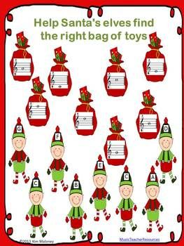 Free Download For Your Music Class Christmas Music Match The Notes
