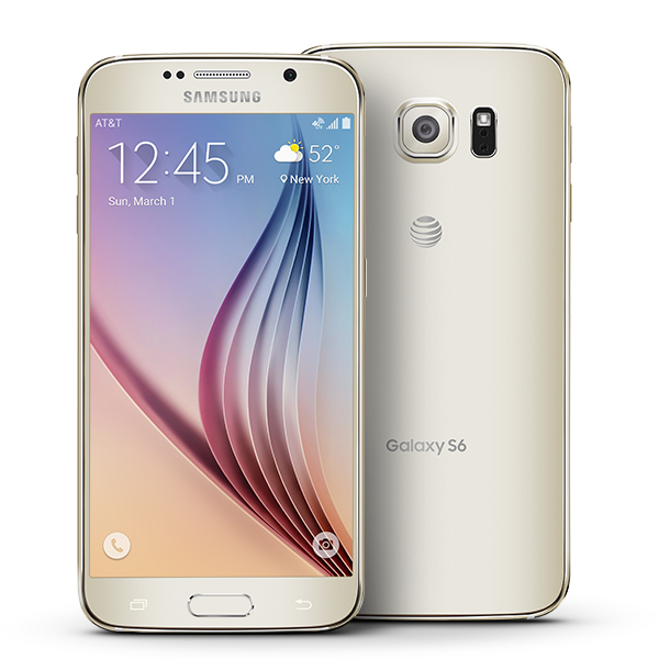 Samsung Galaxy S6 32gb At T Certified Pre Owned Smartphone Gold