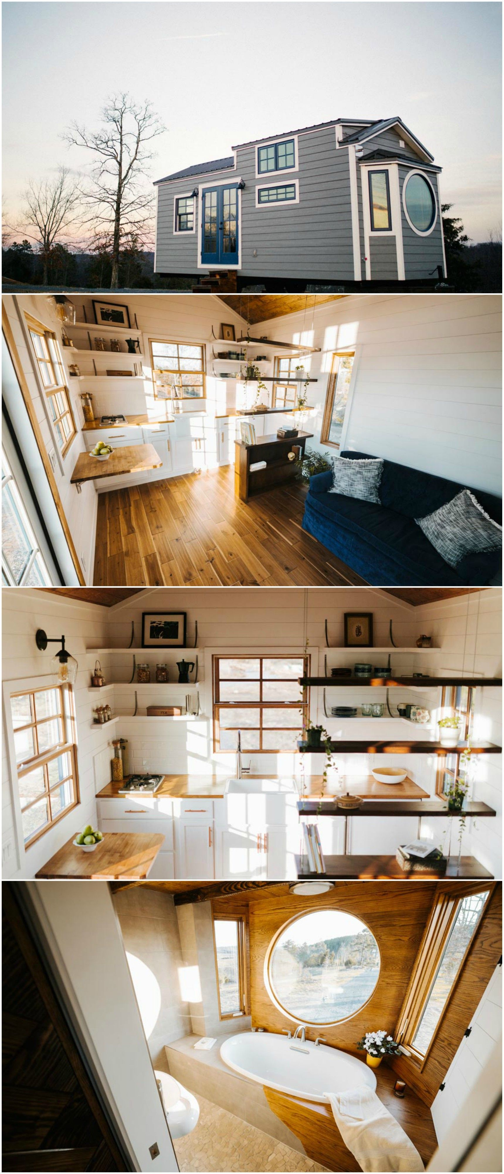 The monocle is  nice custom tiny house built by wind river homes also rh ar pinterest