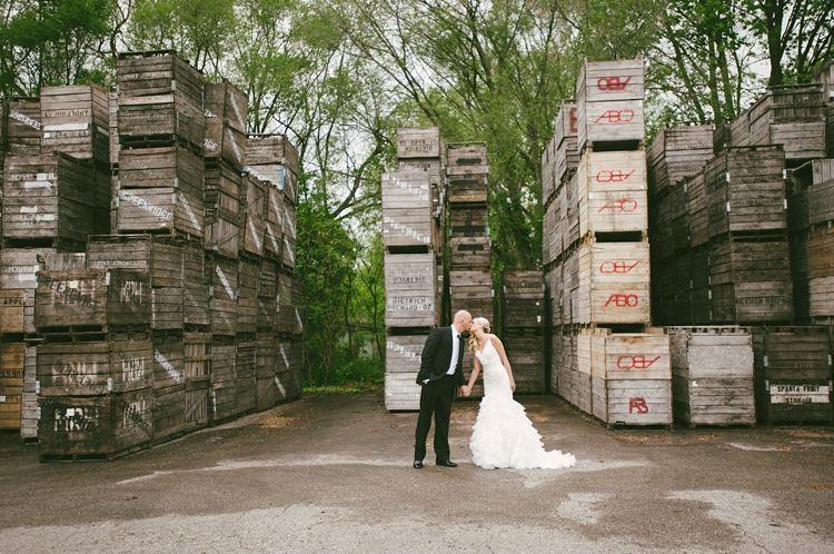Tifani and Nick's rustic, barn wedding in Michigan ...
