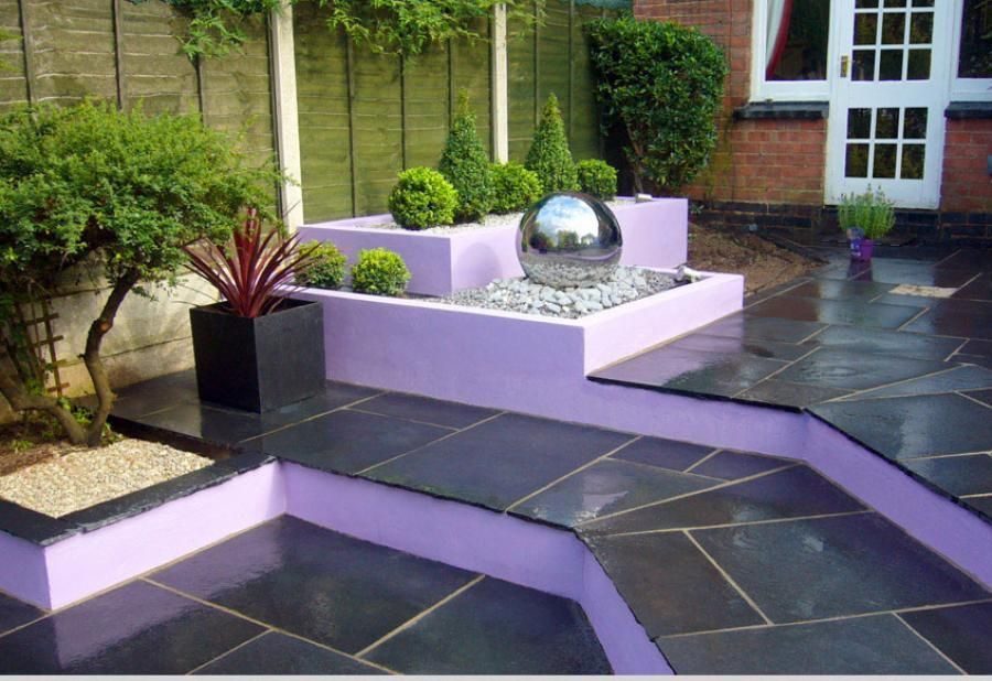Garden Flooring Ideas Uk Flooring Designs - Contemporary garden ideas uk