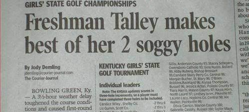Golf : Now for pervs.
