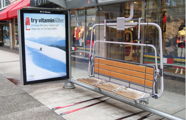 100 brilliantly innovative bus shelter ad takeovers [Pics] | outdoor