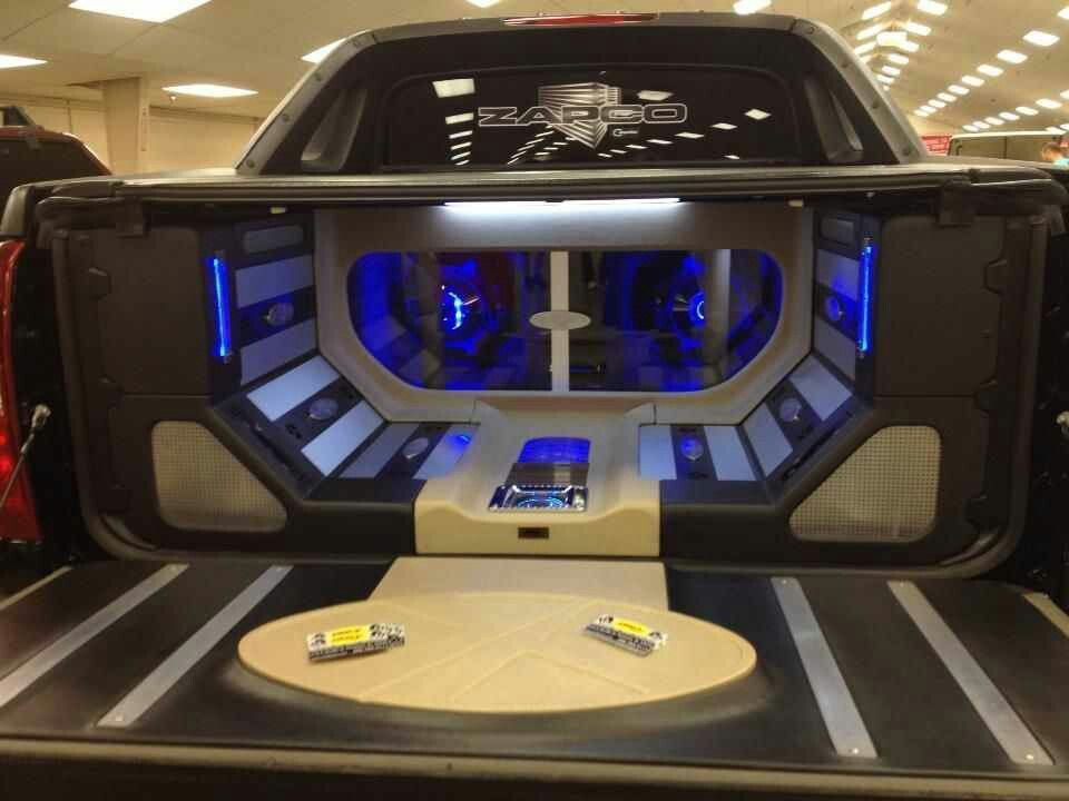 Bed of a Chevy Avalanche | Car Stuff | Chevy avalanche ...