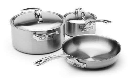 Viking Stainless Steel Cookware Set