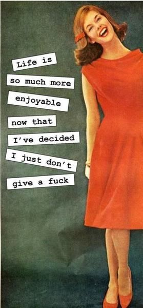 i don't give a....
