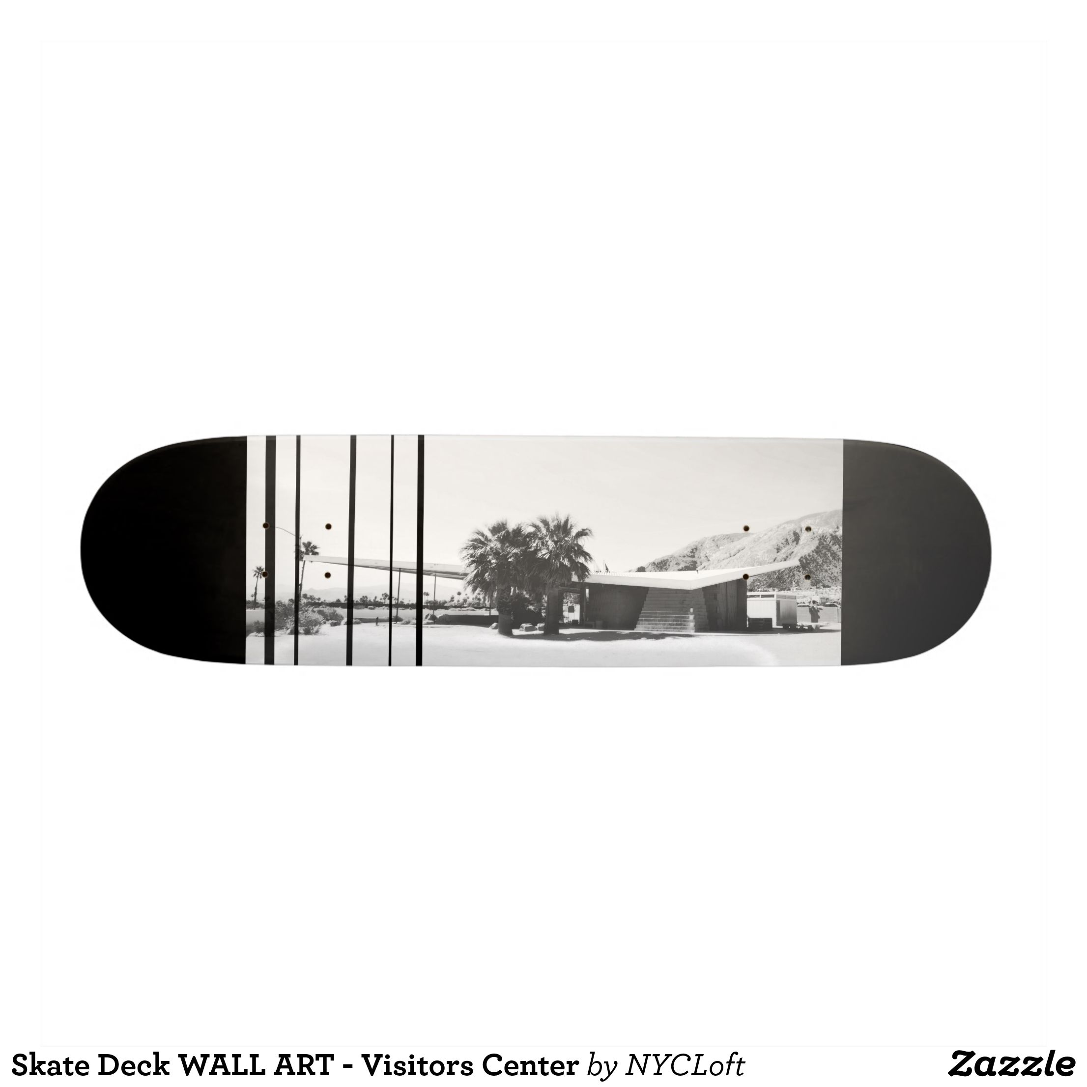 Skate Deck Wall Art Visitors Center Zazzle Com With Images